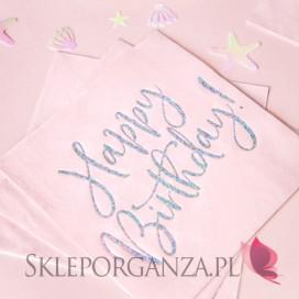 Serwetki urodzinowe Serwetki KOLEKCJA Happy Birthday, 33x33 cm