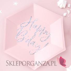 Kolekcja Princess Urodzinowa Talerzyki KOLEKCJA Happy Birthday