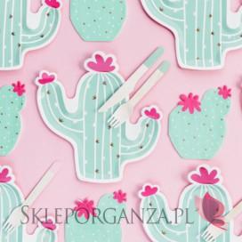 Talerzyki na Roczek Talerzyki Kolekcja Kaktus
