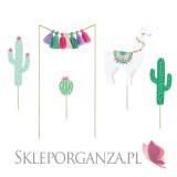 Toppery i figurki na Roczek Toppery Kolekcja Kaktus