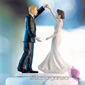 Porcelanowa figurka na tort - Taniec