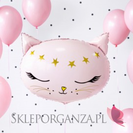 Balony foliowe na Roczek -Balon foliowy Kolekcja Kotek