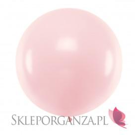Balony olbrzymy na wesele Balon okrągły 1m, pastelowy j. róż