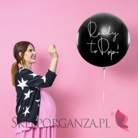 Balony na Baby Shower Balon Ready to pop - Chłopiec