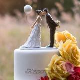 Figurki na tort Porcelanowa figurka na tort - Balon