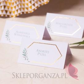 Winietka – personalizacja kolekcja ślubna GEOMETRYCZNA GOLD