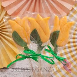 Lizak tulipan żółty