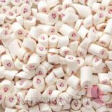 Cukierki karmelki białe z sercem