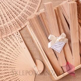 Wachlarz drewniany - personalizacja