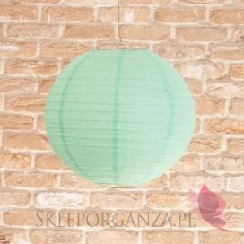 Lampion dekoracyjny, kula miętowa 35 cm