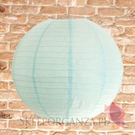 Lampion dekoracyjny, kula jasnoniebieska 50cm
