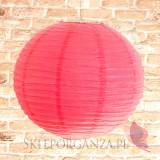 Lampion dekoracyjny, kula fuksja 50cm
