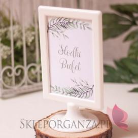 ZIELONA GAŁĄZKA na ślub Znak - personalizacja kolekcja ślubna ZIELONA GAŁĄZKA