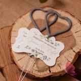 EUKALIPTUS na ślub Zimne ognie serca – iskierki miłości - personalizacja kolekcja ślubna EUKALIPTUS