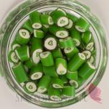 Serca Cukierki karmelki zielone z sercem
