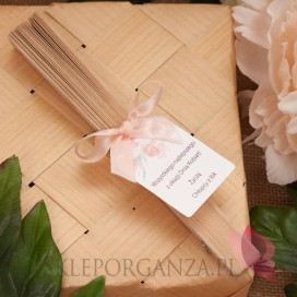 Dzień Matki - Dzień Kobiet Wachlarz drewniany - personalizacja Dzień Kobiet