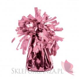 Obciążnik do balonów metaliczny rose gold