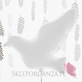 Balon foliowy Gołąb biały