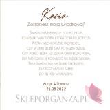GEOMETRYCZNA GOLD RÓŻ KWIATY na ślub Prośba o świadkowanie 2 - zestaw upominkowy różany w szkatułce – NATURA - personalizacja...