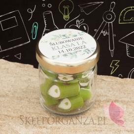 Słodycze dla dzieci - Pasowanie / Koniec roku szkolnego Karmelki - personalizacja - Ślubowanie