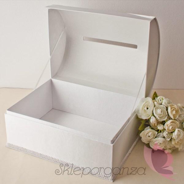 pudełko na życzenia, kartki, pieniądze