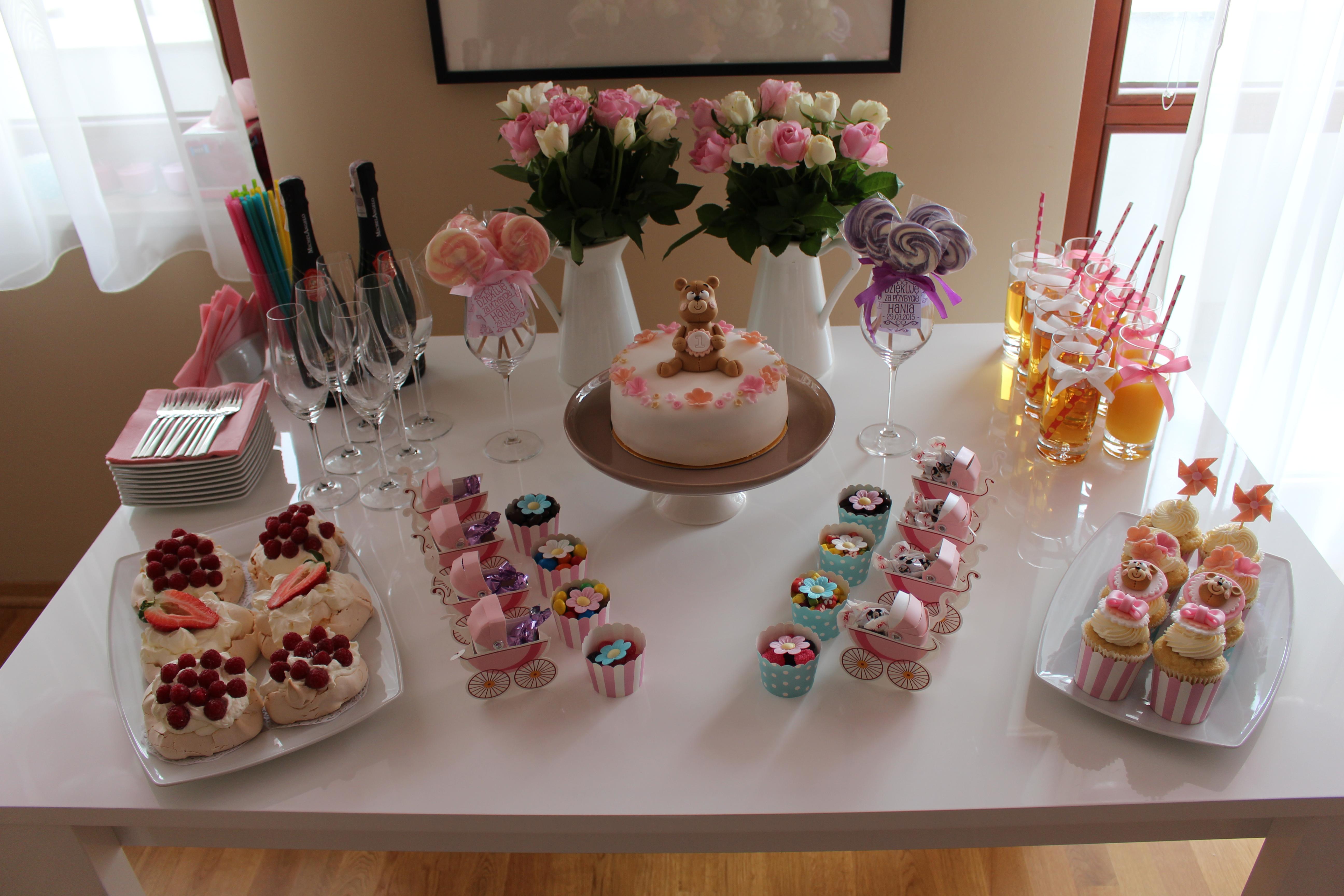 Najnowsze Pomysł na pierwsze urodziny | Pomysły na roczek | Table XK55