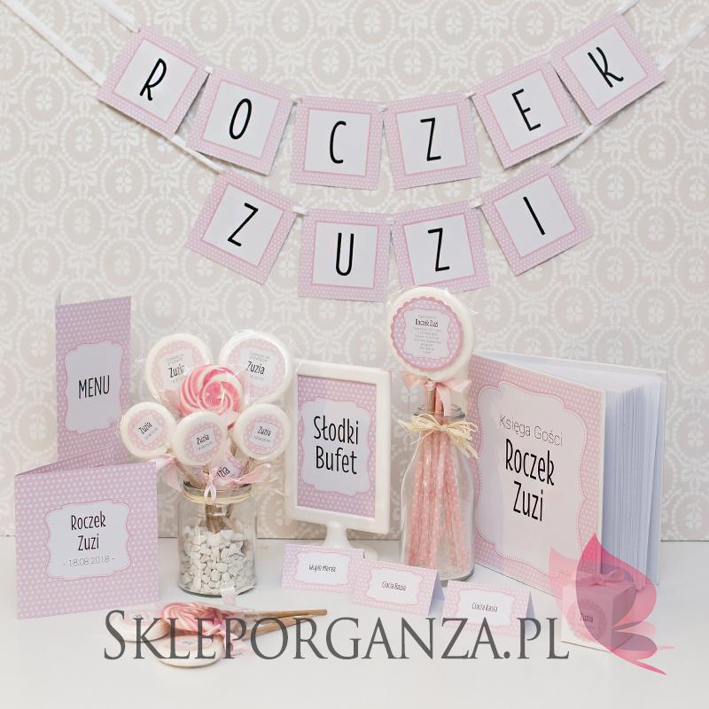 Kolekcja Kropeczki Różowa Skleporganzapl Blog