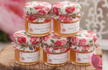 miód, polski miód, personalizowany miód, upominki dla gości miody, podziękowania dla gości miody, personalizowane miody z dekoracją wieczka, miód naturalny