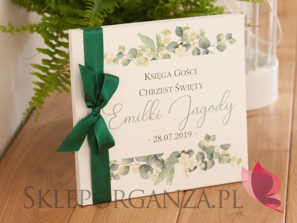 księgi gości kolekcja eukaliptus, księgi gości, personalizowane ksiegi gości, księgi gości z personalizacją, personalizowane księgi gości z kolekcji eukaliptus