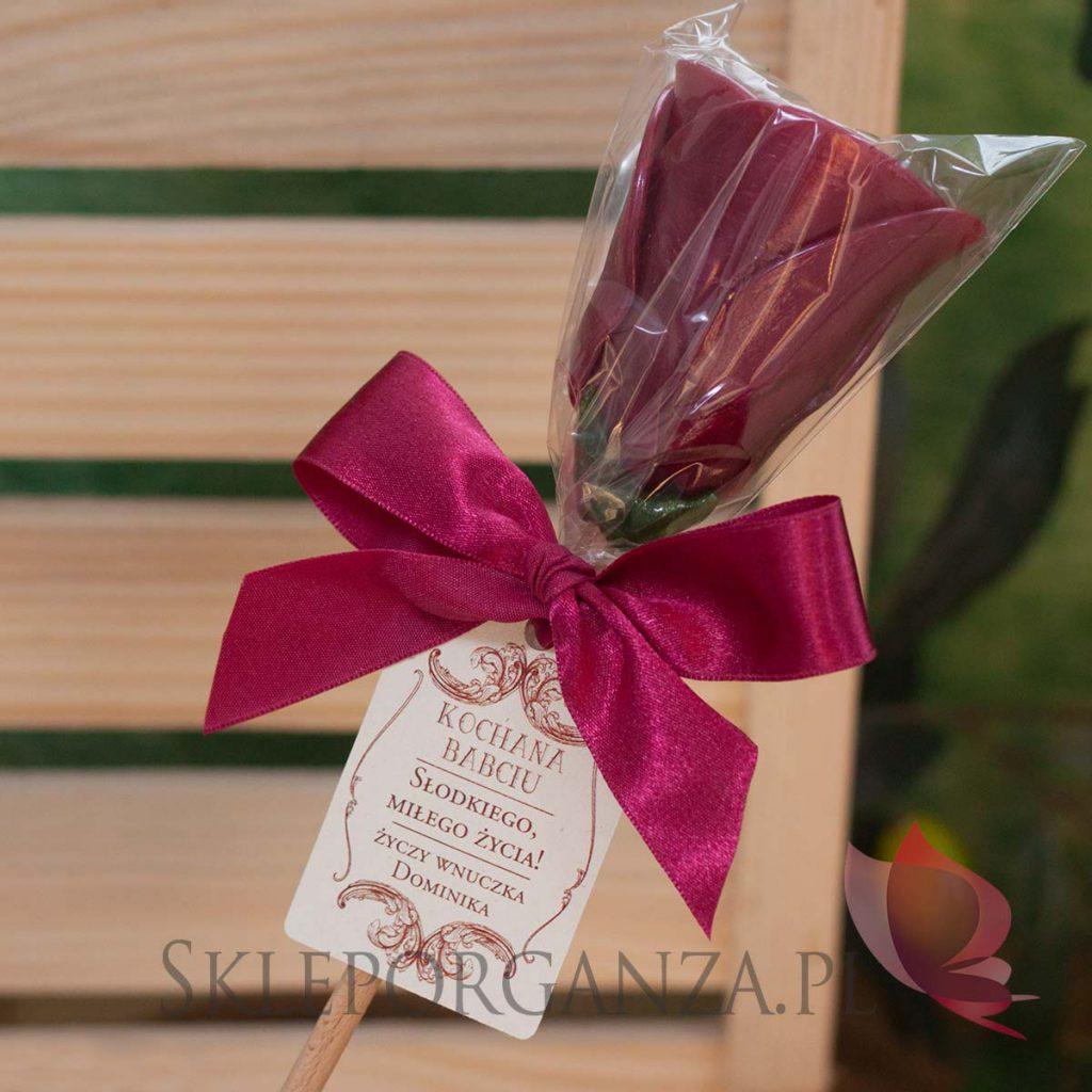 dzień babci, dzień dziadka, dzień babci i dziadka, prezenty dla babci, prezenty dla dziadka, uniwersalne prezenty dla babci i dziadka, prezenty na Dzień babci, prezenty na Dzień Dziadka, lizak róża, lizak róża z personalizacją, naturalny lizak róża