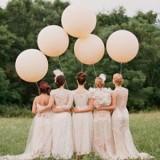 Balony olbrzymy na wesele