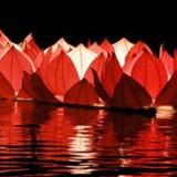 Pływające lampiony weselne