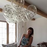 Balony przezroczyste na wesele