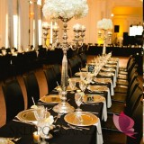 Dekoracje stołu sylwestrowego