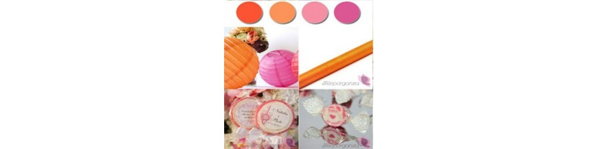 Palette - Orange, Fuscia
