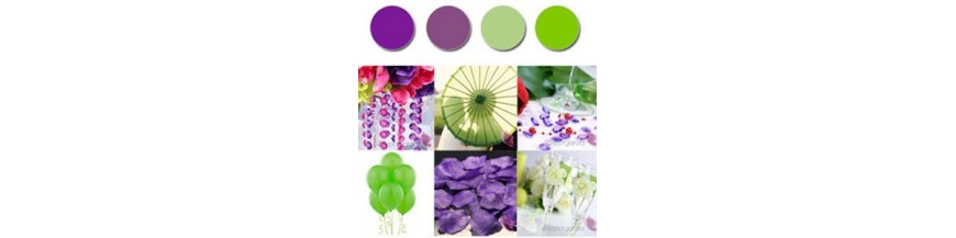 Palette - Purple, Green