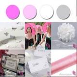 Palette - Pink, White, Silver