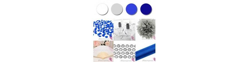 Palette - White, Silver, Cobalt