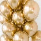 Balony chromowane URODZINOWE