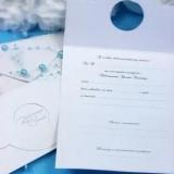 Zaproszenia na chrzest do wypisania