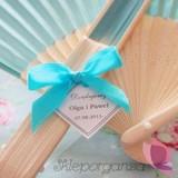 Wachlarze weselne personalizowane