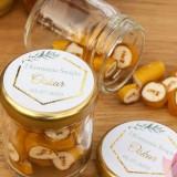 Karmelki komunijne upominki dla gości personalizowane