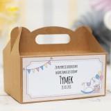 Pudełka na ciasto urodzinowe personalizowane