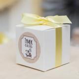 Pudełka na Baby Shower personalizowane