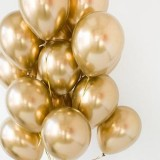Balony komunijne chromowane