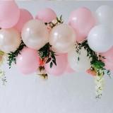 Balony komunijne pastelowe i metaliczne