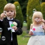 Bańki mydlane ślubne