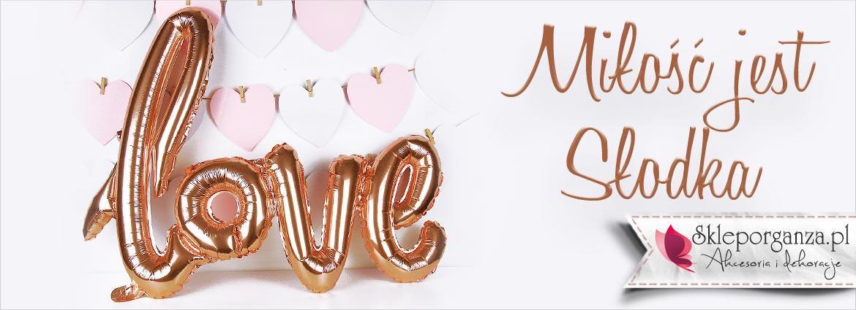 Sklep Organza - Wyjątkowe, niepowtarzalne, upominki dla gości - Love Balony